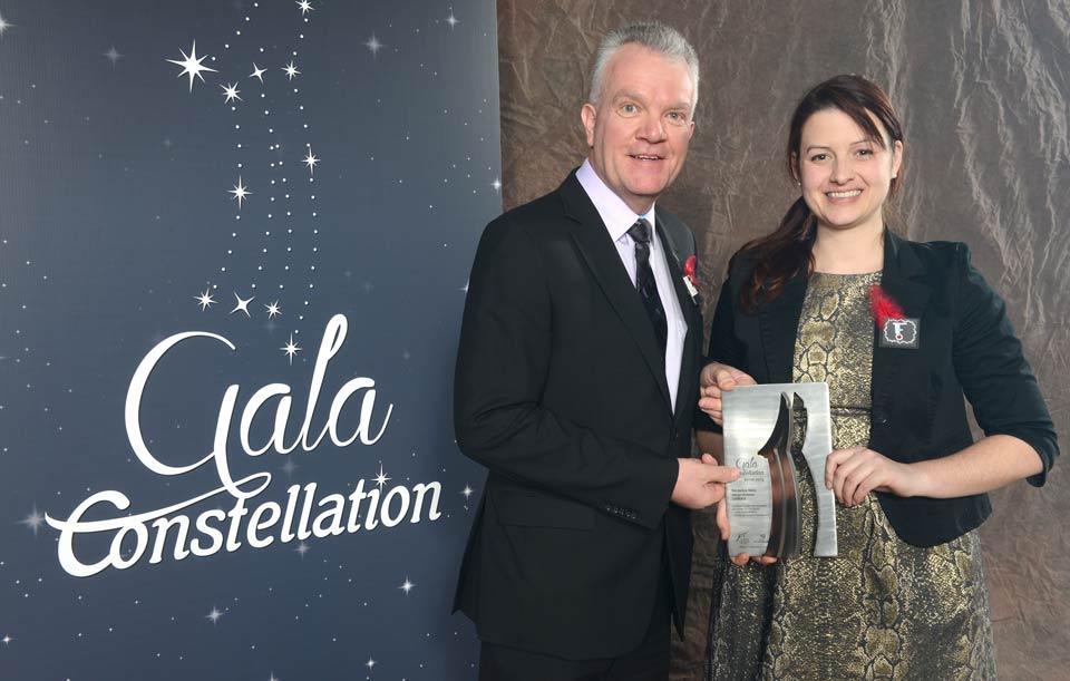 Prix au gala constellation de la chambre de commerce for Chambre de commerce de st hyacinthe